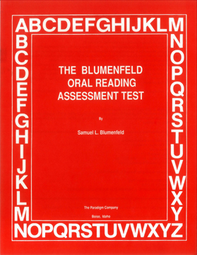 Blumenfeld Oral Reading Assessment Test